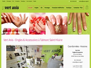 Vert Anis Ongles & Accessoires